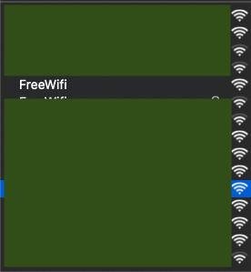 choix de borne wifi mac os