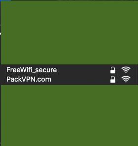 Nouveau point d'accès wifi sur Mac os