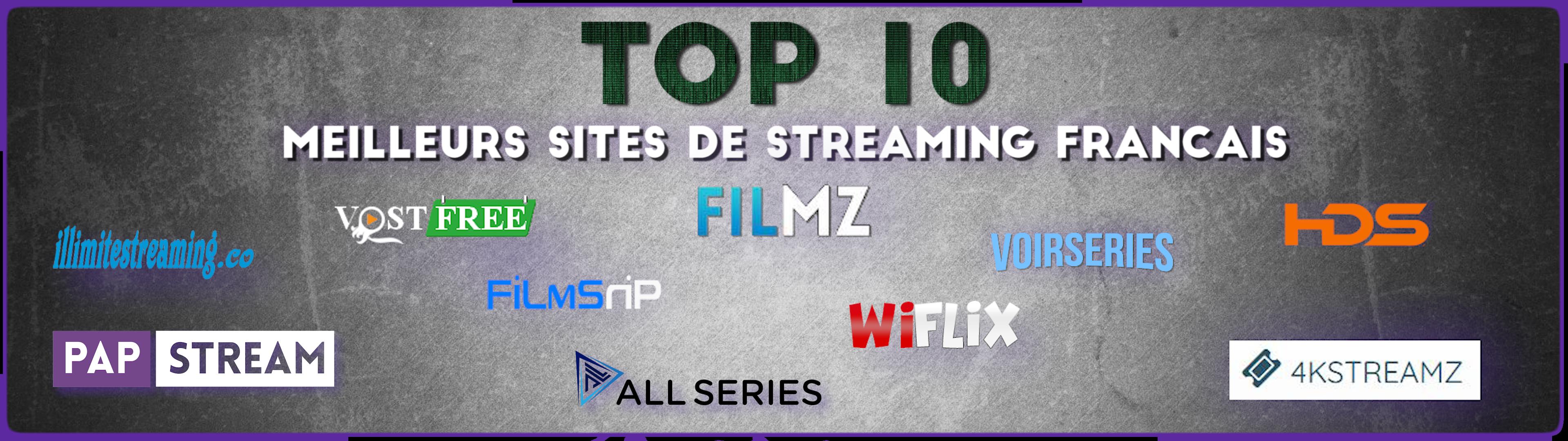 Quels sont les meilleurs sites de streaming français ?